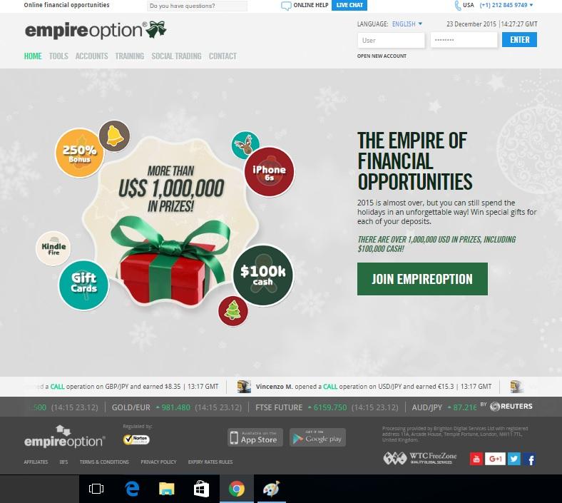 Empire Option Review