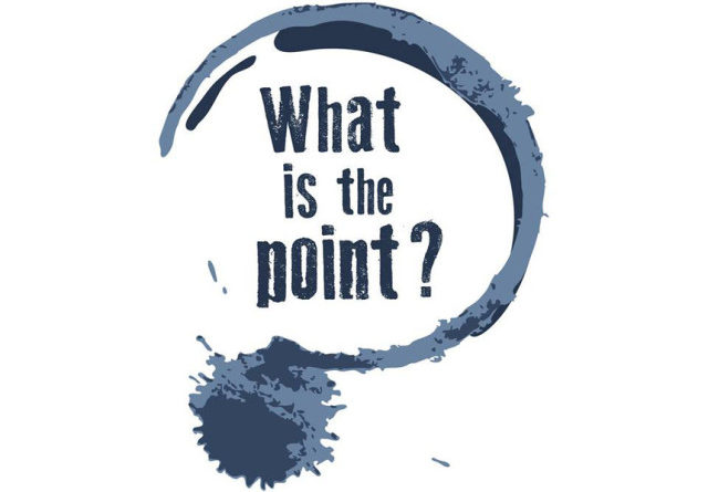 Image result for What is the point?