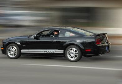 fast police car